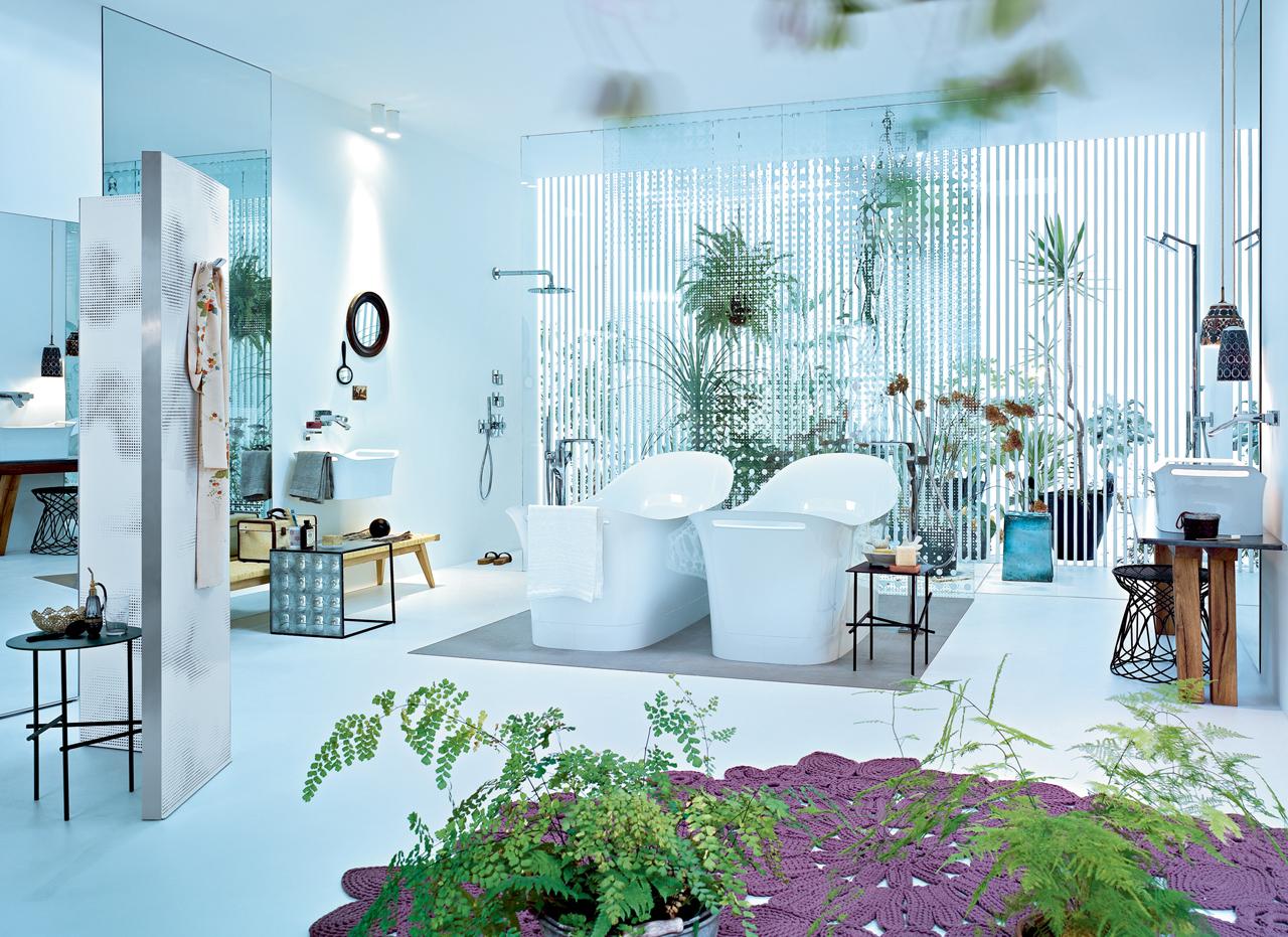 Ideas y estilos para el diseño del baño con HANSGROHE