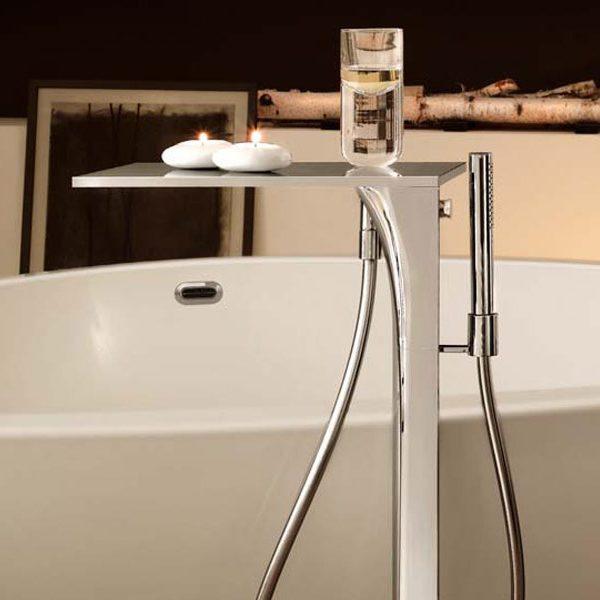 grifería de bañera de piso Axor MASSAUD