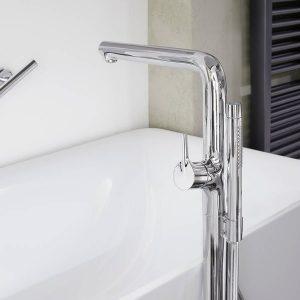 grifería de bañera de piso TALIS S