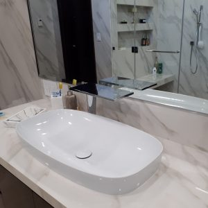 lavamanos GREEN Lux 65 y mono-mando Massaud alto