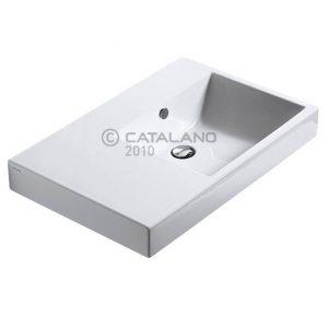 lavamanos Catalano ZERO Domino 75 repisa izquierda